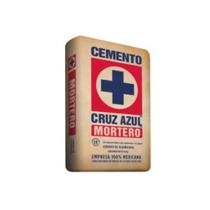 Mortero cruz azul