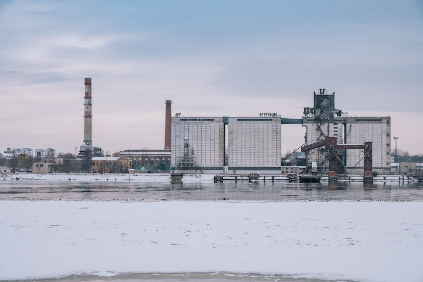 factory winter