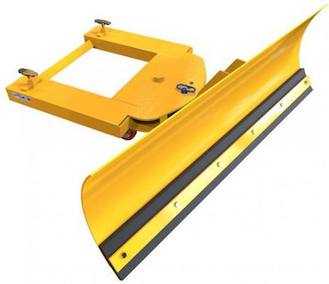 Adjustable Forklift Snow Plough