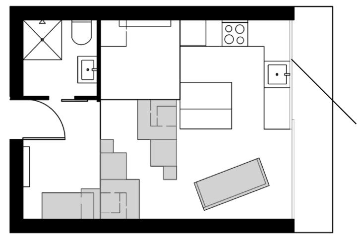 Floor Plan Final Gray