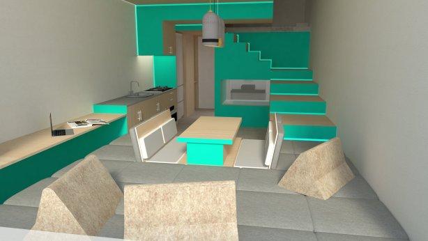 Terrace Micro Apartment
