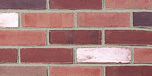 London Blend Molded Red Glengarry Brick Colors Samples