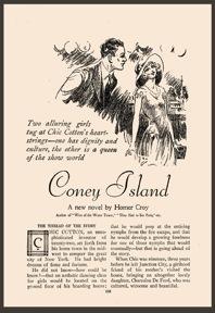 Homer Croy. Coney Island. 1929