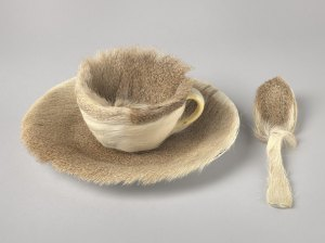 Object, Meret Oppenheim, photo from The Museum of Modern Art https://www.moma.org/collection/works/80997