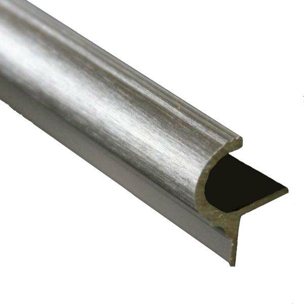 Nez De Marche Arrondi Finition Aluminium Brosse 11 Mm Materiauxnet Com