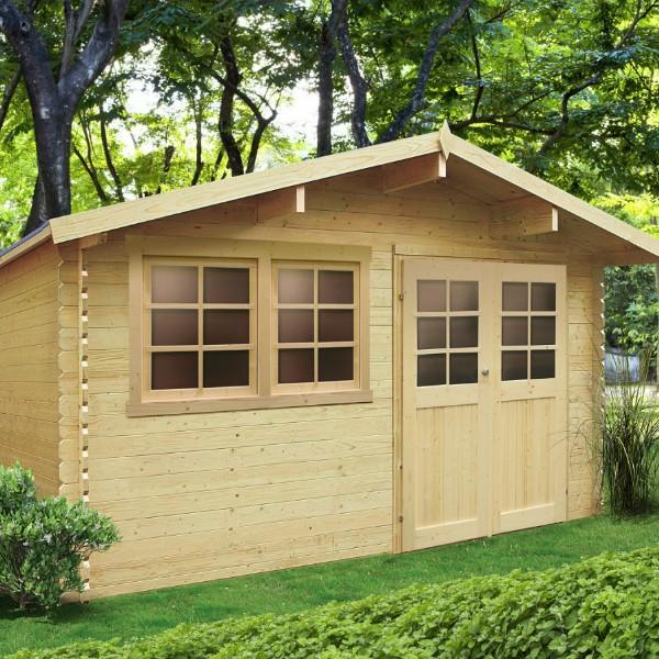 abri de jardin bois autoclave solid modele niort 418x298 cm