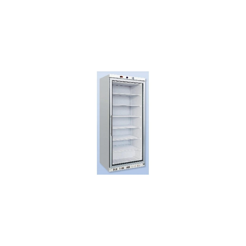 armoire refrigeree vitree elite froid negatif 600l