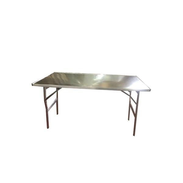 table pliante alu renforce l 1500 x p 800 x h 800 mm