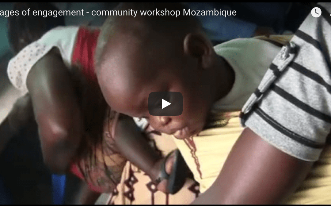 Images of engagement – Community workshop in Mozambique