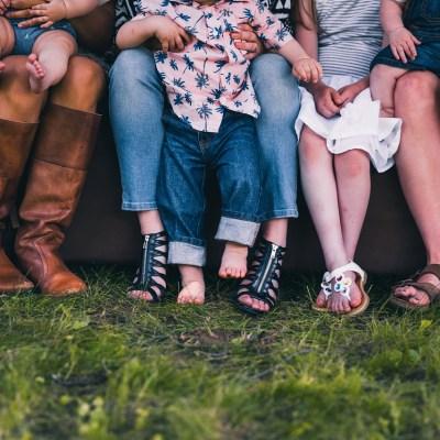 Grup de criança a la Llar d'infants El Grimm