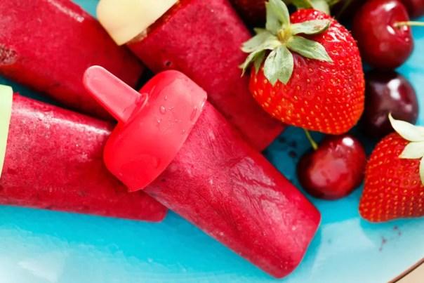 sorvete de morango caseiro