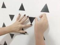 DIY: Decore a parede do quarto gastando pouco e deixando super moderno.