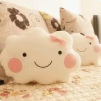 almofadas na decoração do quarto das crianças
