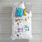 ideias de roupa de cama para as crianças27