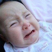 bebê chorando para não dormir