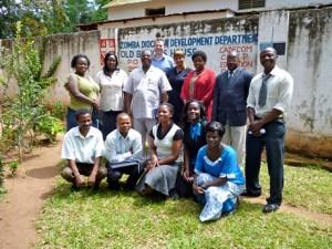 Malawi CHC team