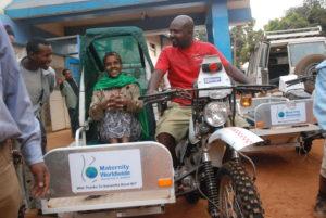 eRanger motorbike - Ethiopia 2012