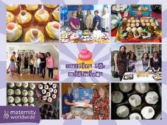 Muffins for Midwives - Montage of photos