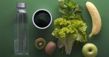 wellness and green whole food