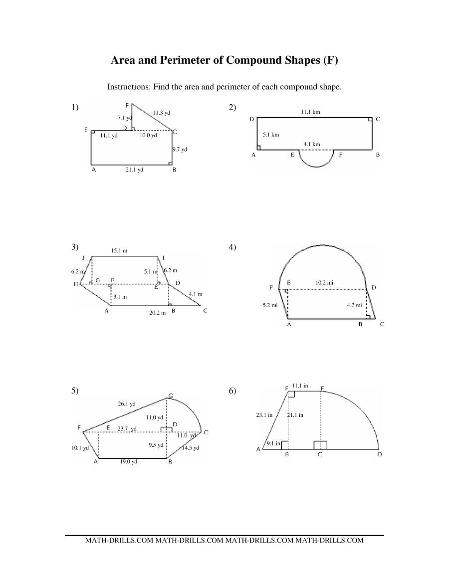 Uncategorized Area Of Complex Figures Worksheet area of complex figures worksheet free worksheets library download worksheet
