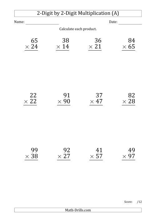 Multiplying Decimals Worksheet Powers Ten