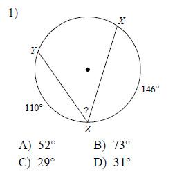 Image Result For Inscribed Angles Worksheet