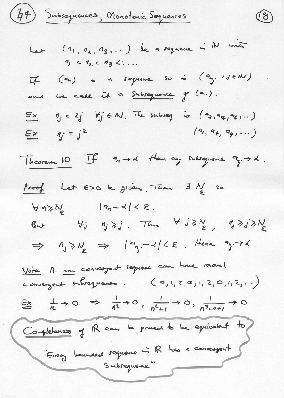 Elements Ofysis And Algebra Part A