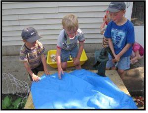 boys measuring