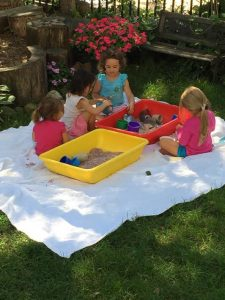 outdoor sand tables