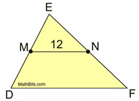 Midsegments In Triangles