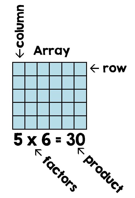5 x 6 的方形矩陣