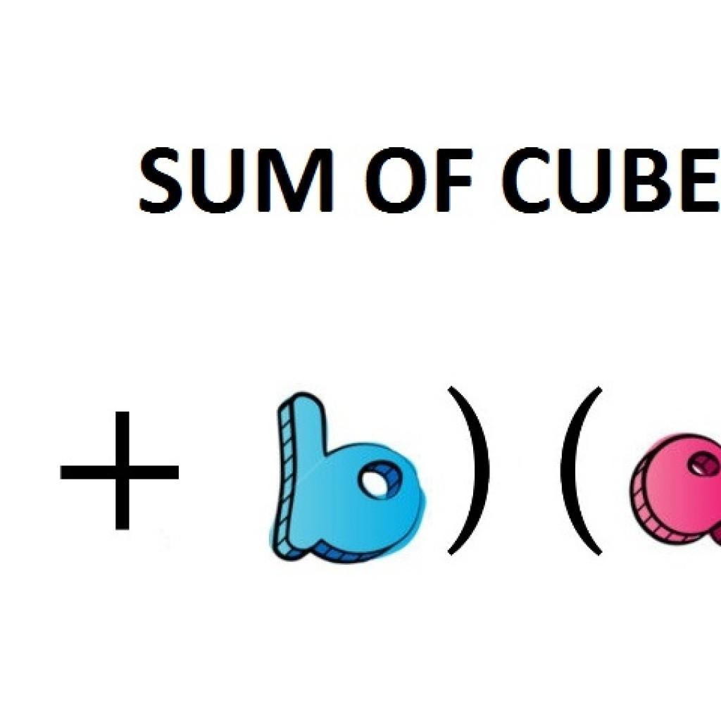 Sum Of Cubes