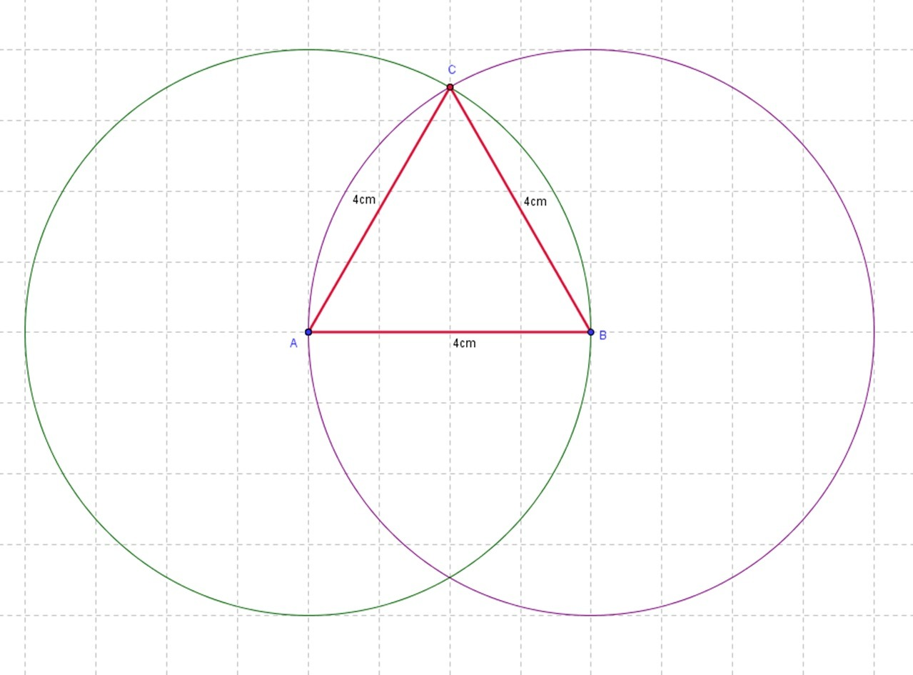 Constructing Equilateral Triangle