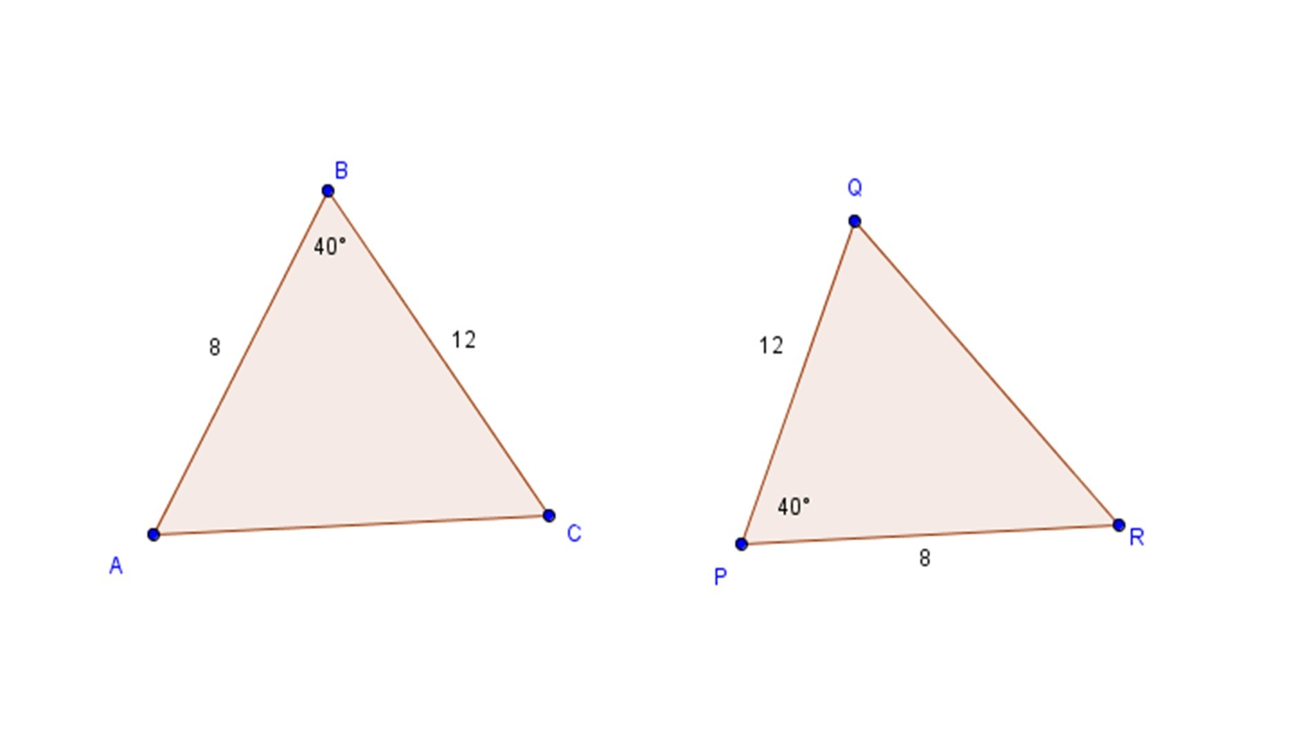 Congruent Right Triangles Worksheet