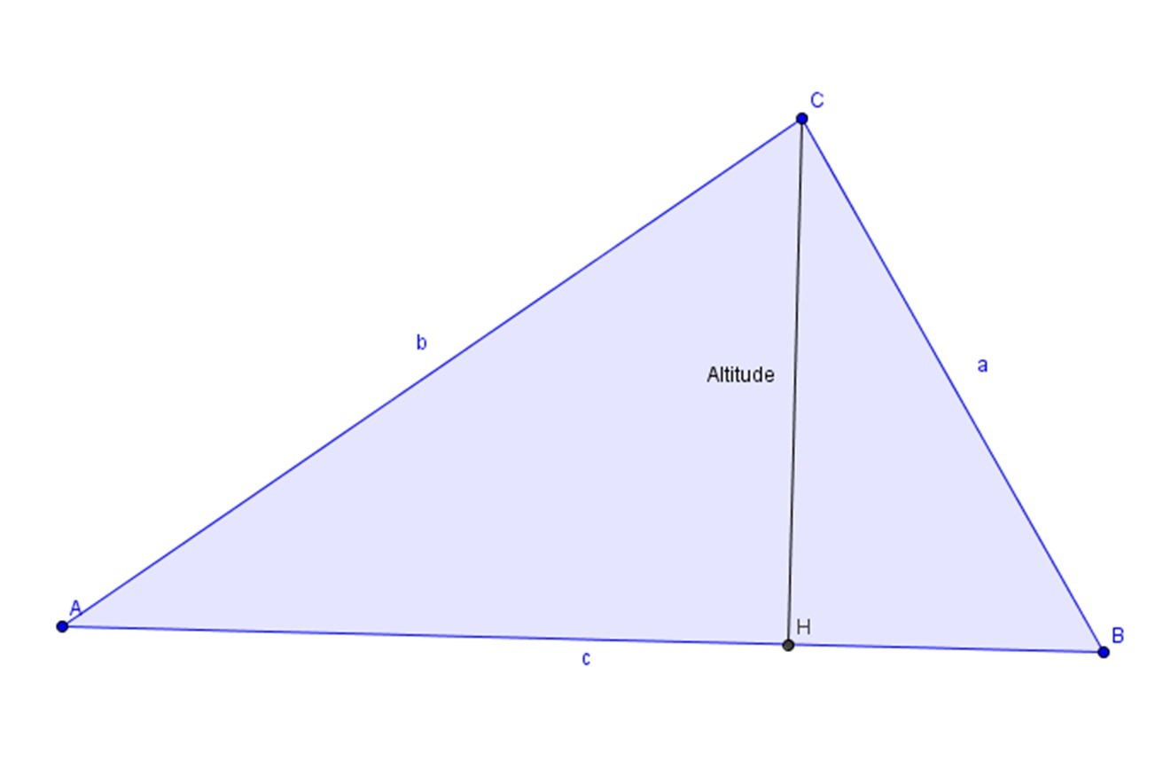 Altitude Of Triangle