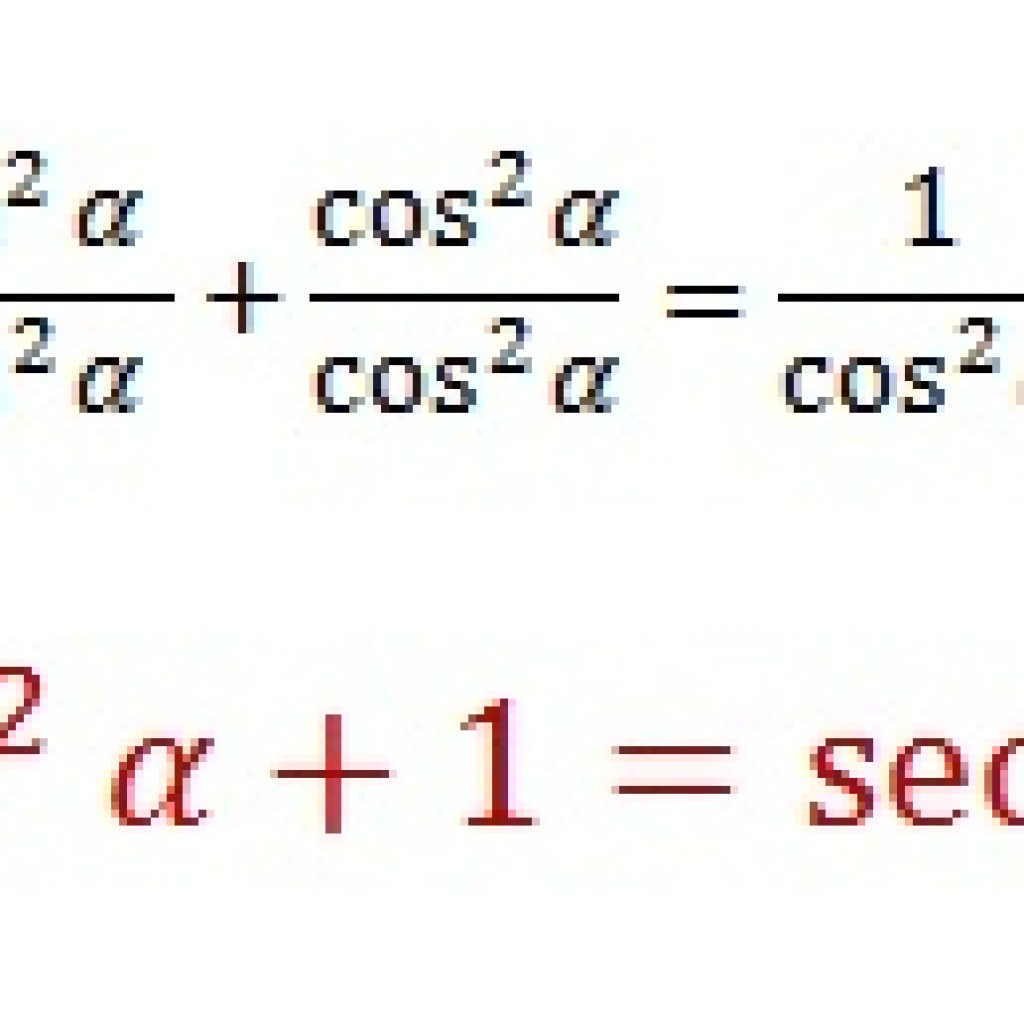 Tangent And Secant Pythagorean Identity