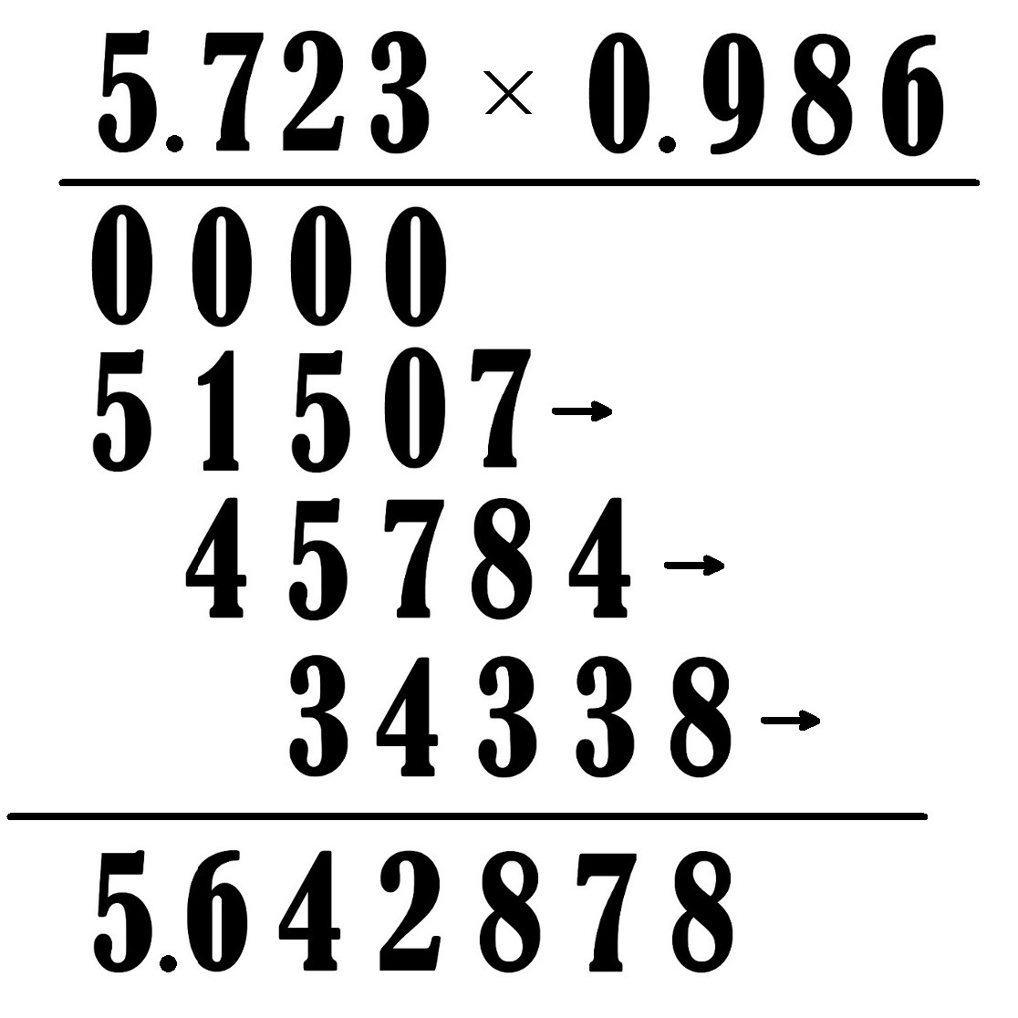 Multiplication Of Decimals With Worksheets