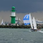 Hanse Sail 2013 - Leuchtturm Warnemünde