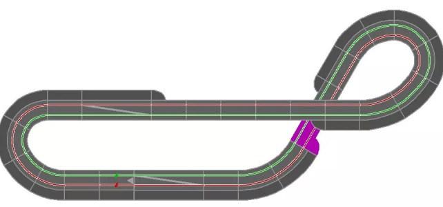 Carrera Streckenentwurf 1