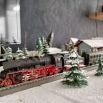 TT Eisenbahn Winterlandschaft fertig 2