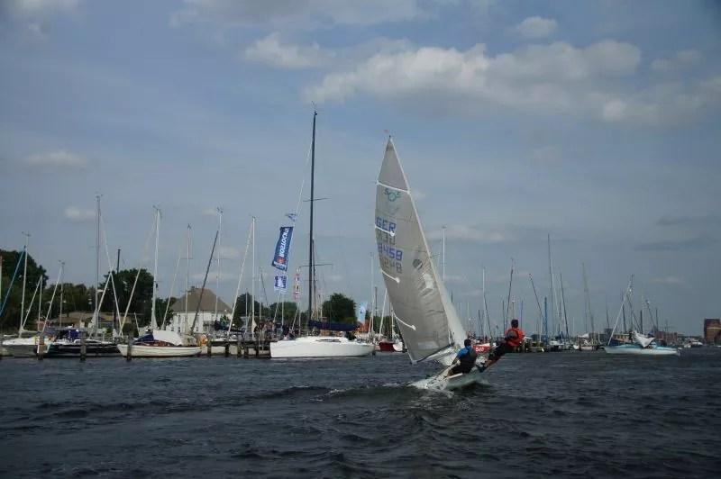 505er segeln kyrwood GER8458