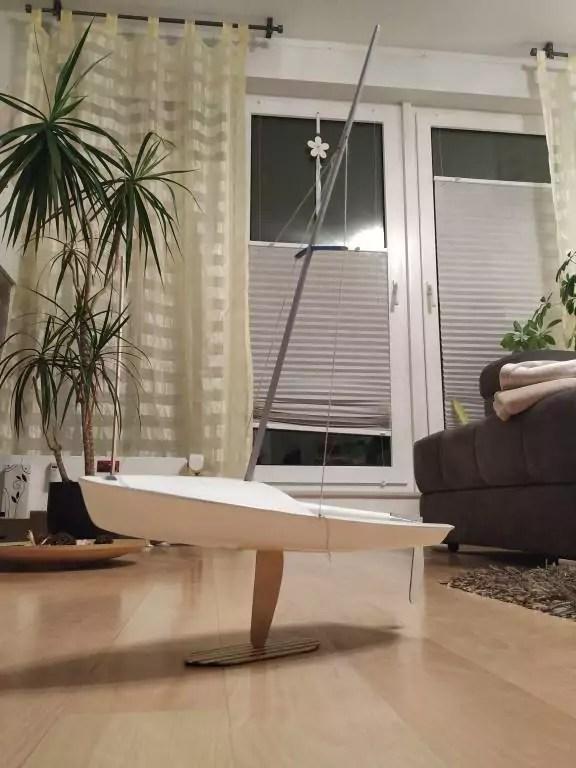 Segelboot Ständer Version 2