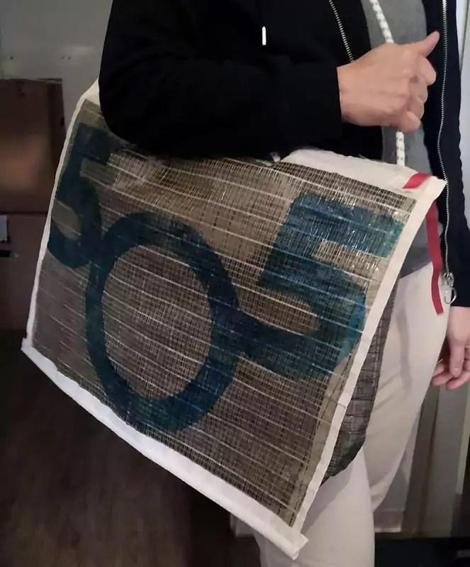 Tasche Aus Segel Naehen 12