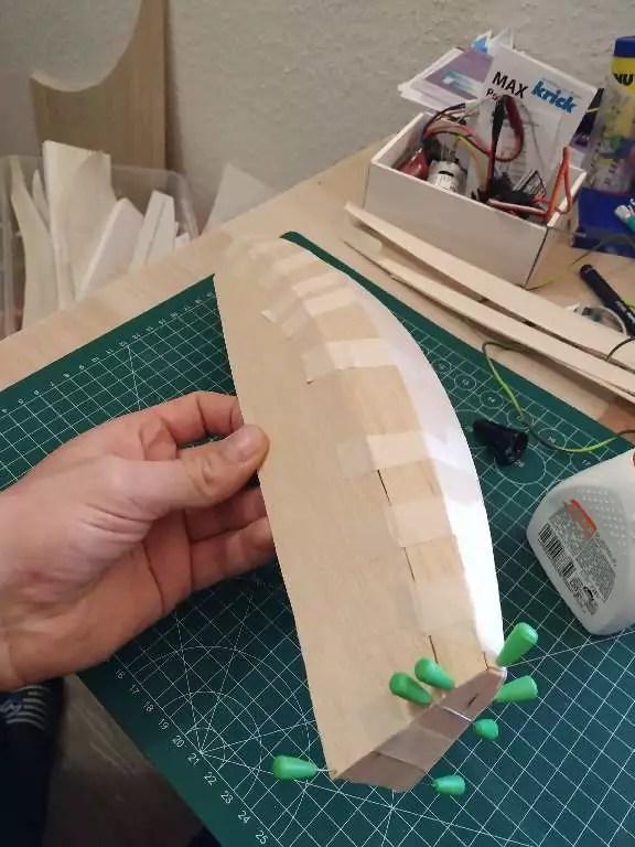 Footy Rc Segelboot Bauen 8