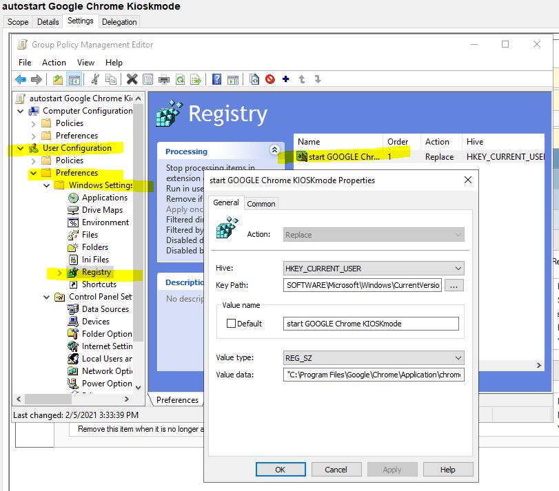Gpo Autostart Application 2