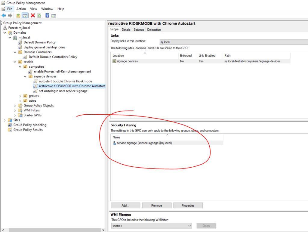 Gpo Kioskmode Restriktiv Chrome 0