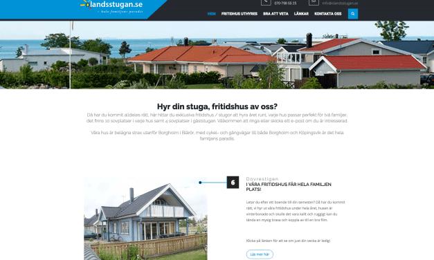 Ny design på hemsida till Ölandsstugan