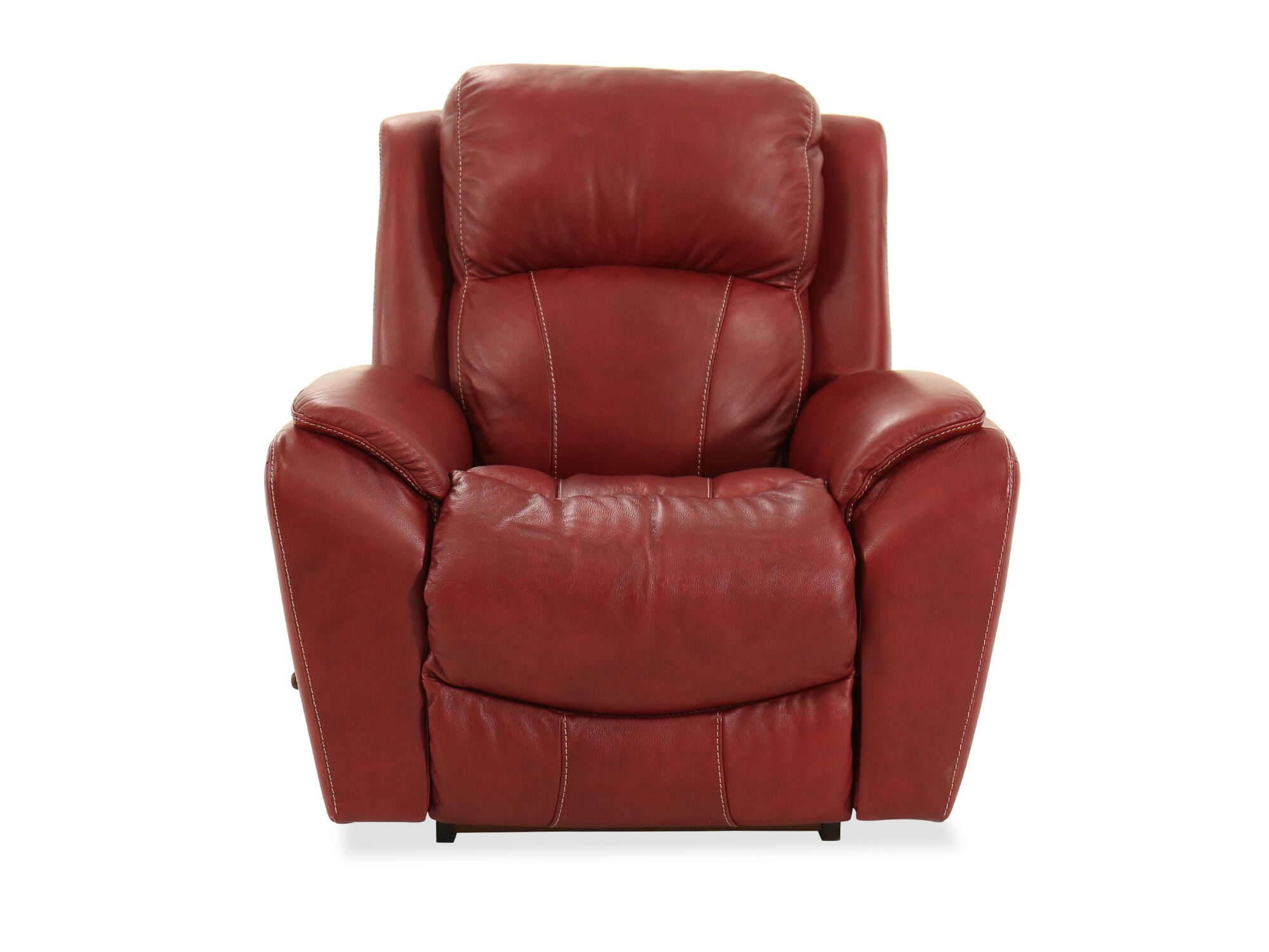 Traditional 40 Rocker Recliner In Fire Red Mathis