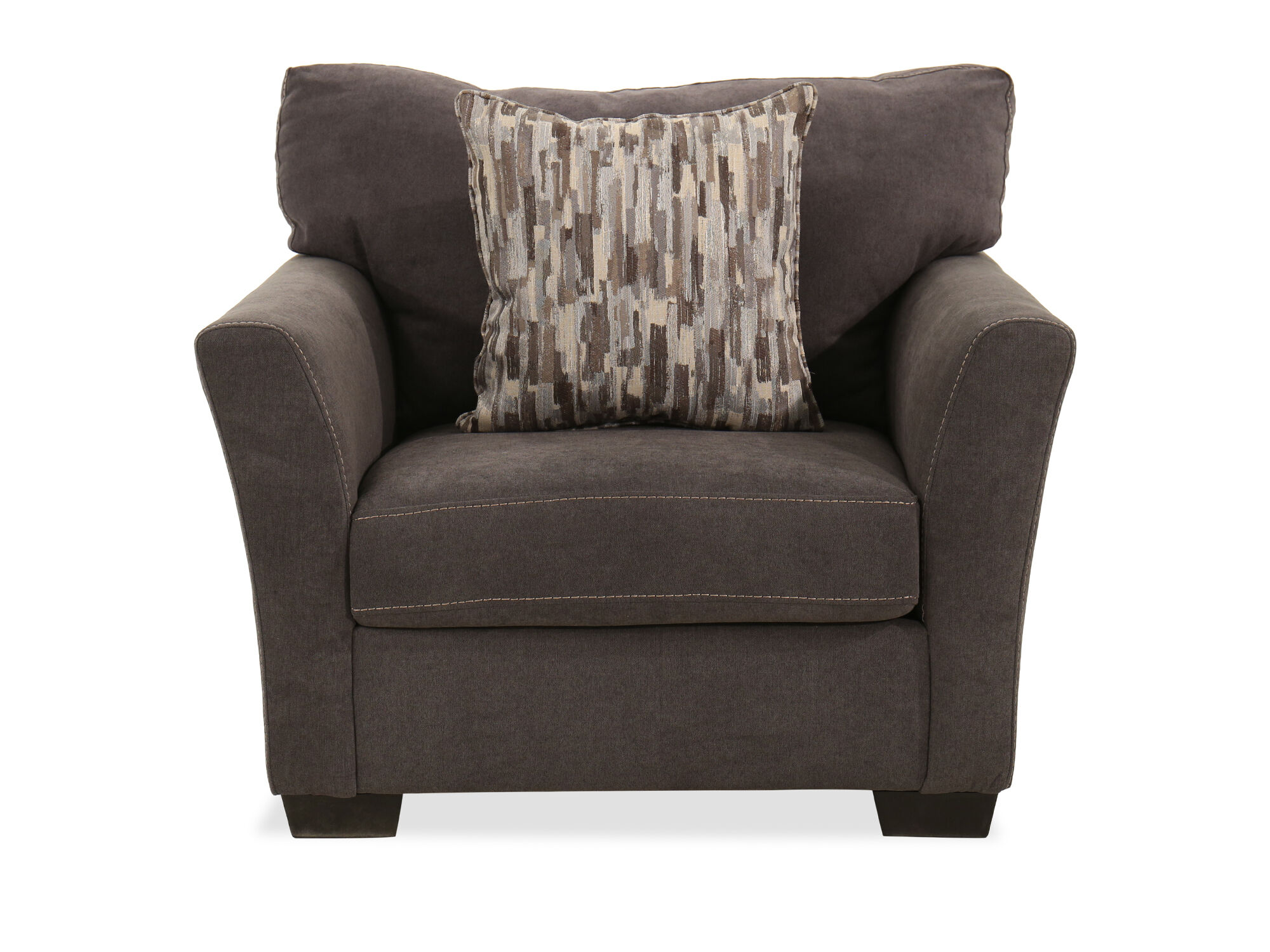 Traditional 45 Chair In Gray Mathis Brothers Furniture