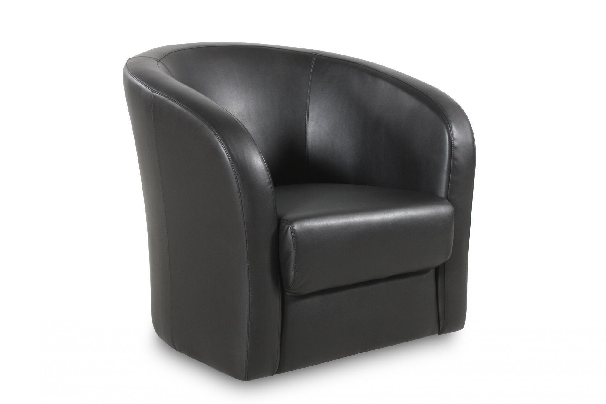 Low Back Swivel Chair In Onyx Mathis Brothers Furniture